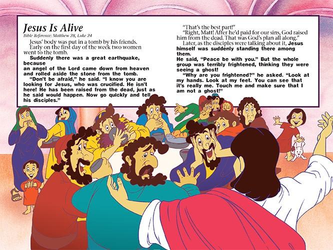 Jesus Coloring Book