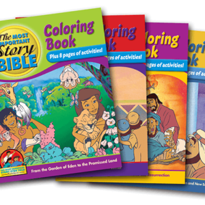Coloring & Activity Book Series (25 Count)