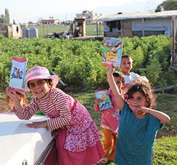 MIS in Arabic Distributed to Refugees